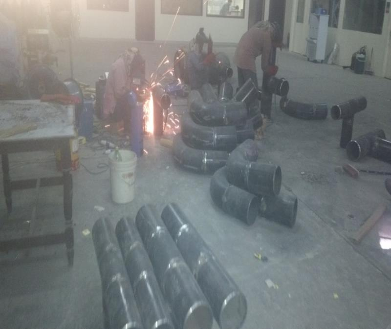 FITTINGS (Elbow, Tee, Reducing Tee, Reducers) Fabrication, Welding